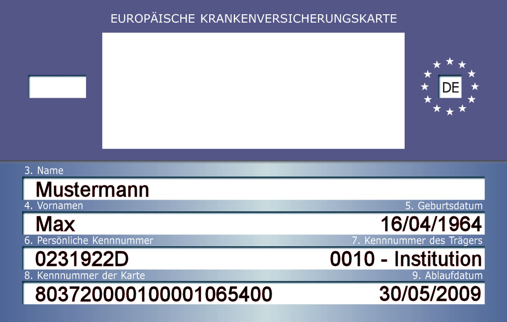 Europäische Krankenversicherungskarte